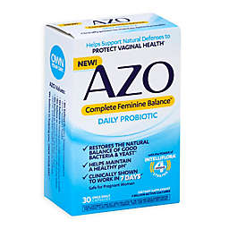 AZO 30-Count Complete Feminine Balance™ Daily Probiotic for Women Capsules