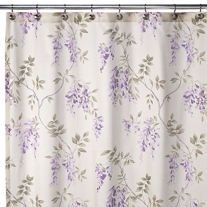 J Queen Wisteria 72 X Shower Curtain