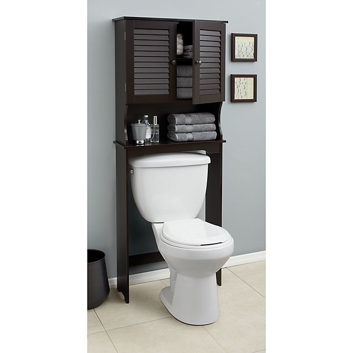 Louvre Bath Space Saver in Espresso | Bed Bath & Beyond