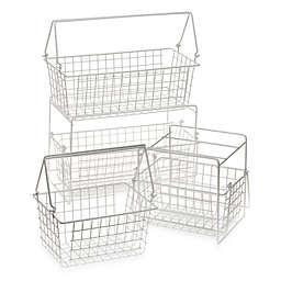 Two-Basket Slide Out Organizer