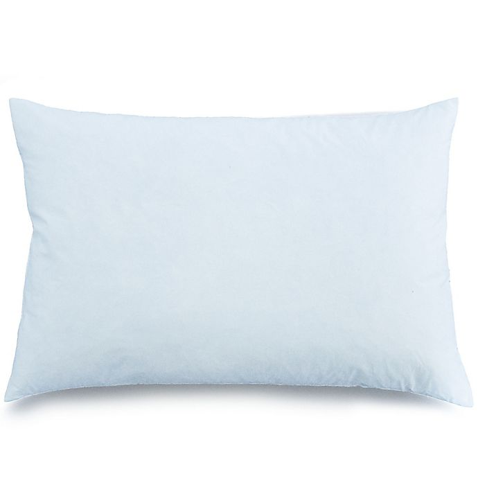 Alternate image 1 for Sleeping Partners Feather Throw Pillow Insert in White