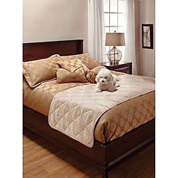 Innovative Textile Faux Suede Bed Protector