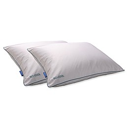 Iso-Cool 2-Pack Polyester Pillows in White