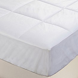 Everfresh Antibacterial Water Resistant Mattress Pad in White
