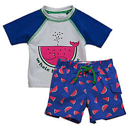 Sovereign Code™ 2-Piece Watermelon Rashguard Set