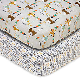 Little Love by NoJo® Aztec Fitted Crib Sheets (Set of 2)