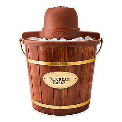 Nostalgia™ Electrics Old Fashioned Wood Ice Cream Maker