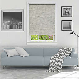 Achim Cordless Privacy 46-Inch x 72-Inch Jute Shade in Heather Grey