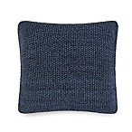 UGG® Summer Knit Square Throw Pillow in Denim