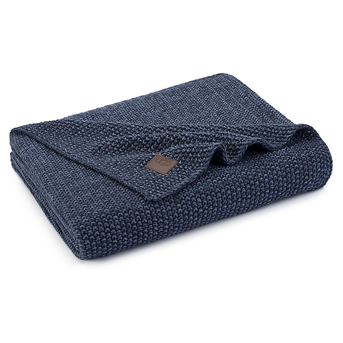 Alternate image 1 for UGG® Summer Knit Throw Blanket in Denim