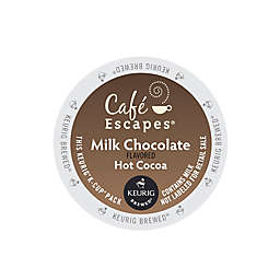 Café Escapes® Milk Chocolate Hot Cocoa Keurig® K-Cup® Pods 16-Count