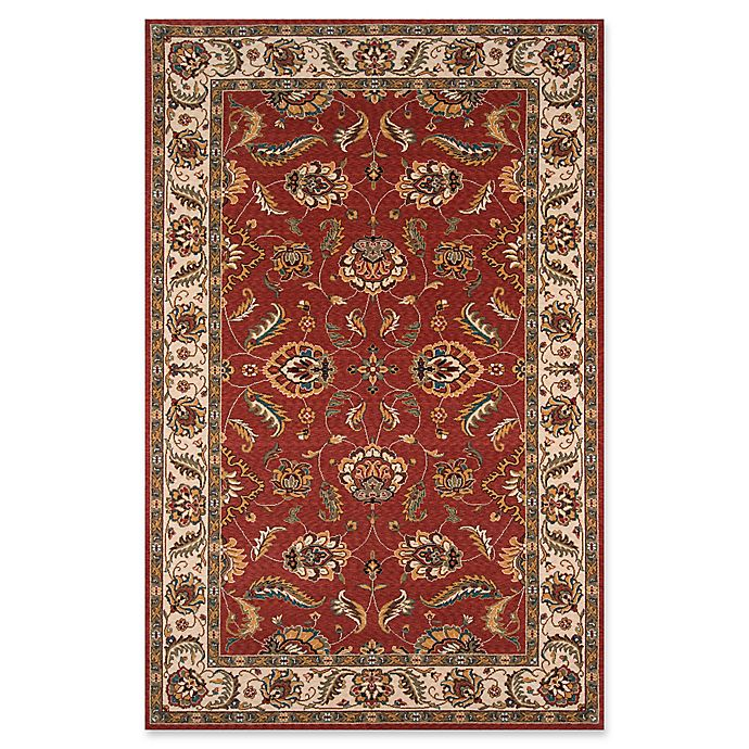 Alternate image 1 for Momeni Persian Garden Loomed 9'6 x 13' Area Rug in Salmon