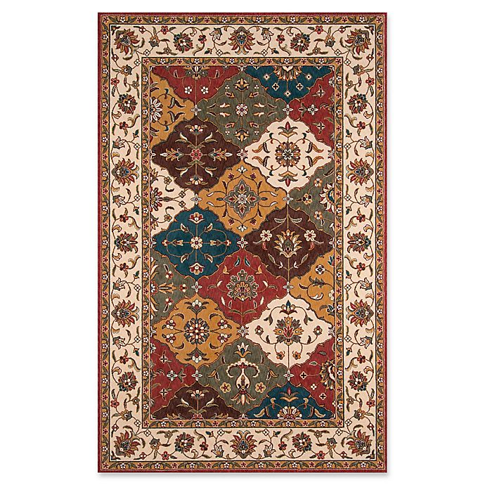 Alternate image 1 for Momeni Persian Garden 9'6 x 13' Multicolor Area Rug