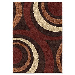 Orion Rugs Ring of Fire Rug in Mocha