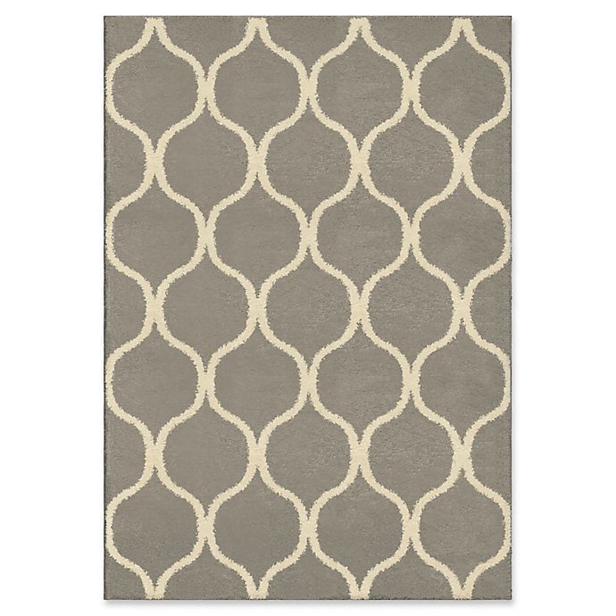 Alternate image 1 for Orian Rugs Modern Grace Pyrenees Adobe Woven 5'3 x 7'6 Area Rug in Grey