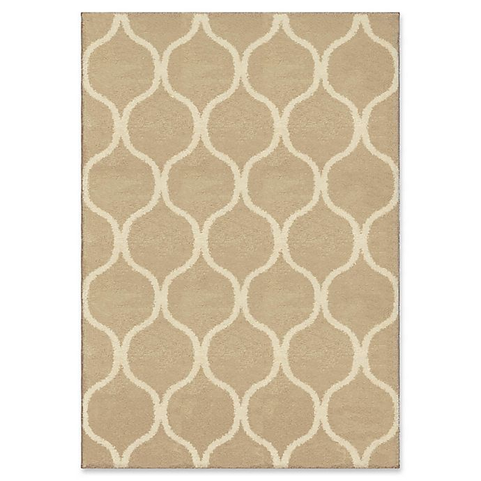 Alternate image 1 for Orian Rugs Modern Grace Pyrenees Adobe Woven 5'3 x 7'6 Area Rug in Beige