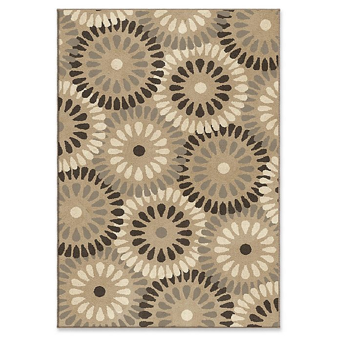 Alternate image 1 for Orian Rugs Modern Grace Springtime Woven 5'3 x 7'6 Area Rug in Grey