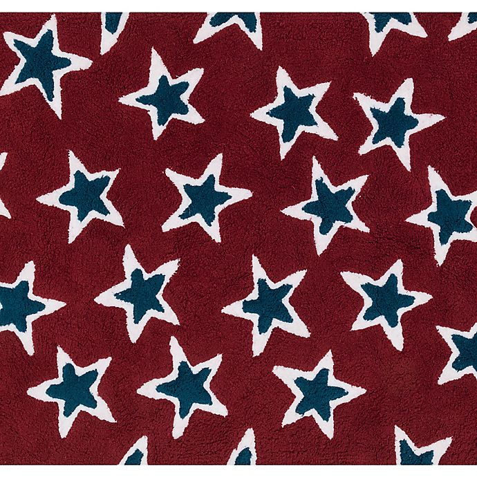 Alternate image 1 for Loloi Rugs Lola Shag 5' x 7' Area Rug in Red/Navy