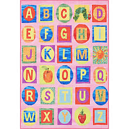 Eric Carle Elementary Alphabet Block Area Rug