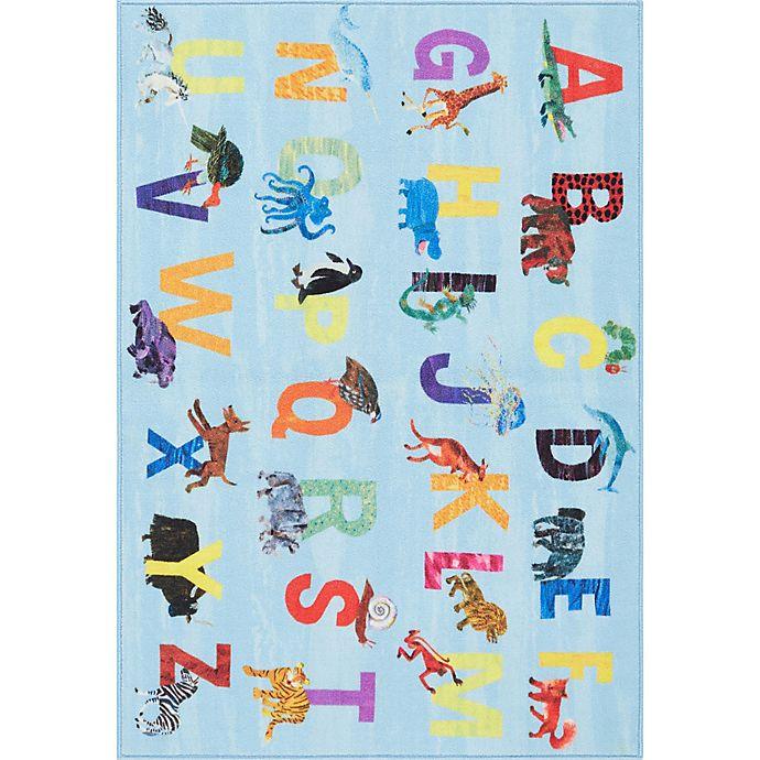 Alternate image 1 for Eric Carle Home Dynamix Elementary Alphabet Block Area Rug