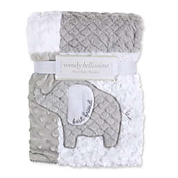 Wendy Bellissimo™ Patchwork Elephant Blanket