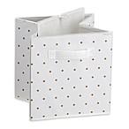Little Seeds™ Small Polka Dot Print Storage Bin in Gold