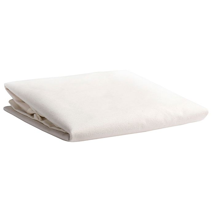 Naturepedic® Waterproof Organic Cotton Crib Mattress Pad ...