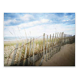 Artissimo Designs™ Hop the Fence 40-Inch x 30-Inch Printed Canvas Wall Art