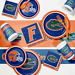 University of Florida 89-Piece Game Day Party Supplies Kit