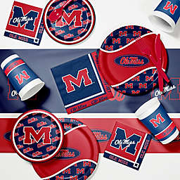 University of Mississippi 89-Piece Game Day Party Supplies Kit