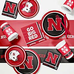 University of Nebraska 89-Piece Game Day Party Supplies Kit