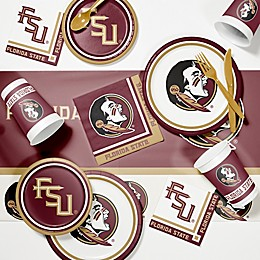 Collegiate 89-Piece Game Day Party Supplies Kit Collection