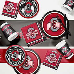Ohio State University 89-Piece Game Day Party Supplies Kit