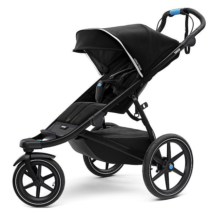 Alternate image 1 for Thule® Urban Glide 2 Jogging Stroller with Bumper Bar in Black