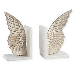 Sterling Industries Seraph 2-Piece Bookend Set in Gold