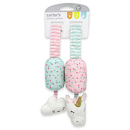 carter's® Cloud and Unicorn Plush Chime Toys in Pink/Purple