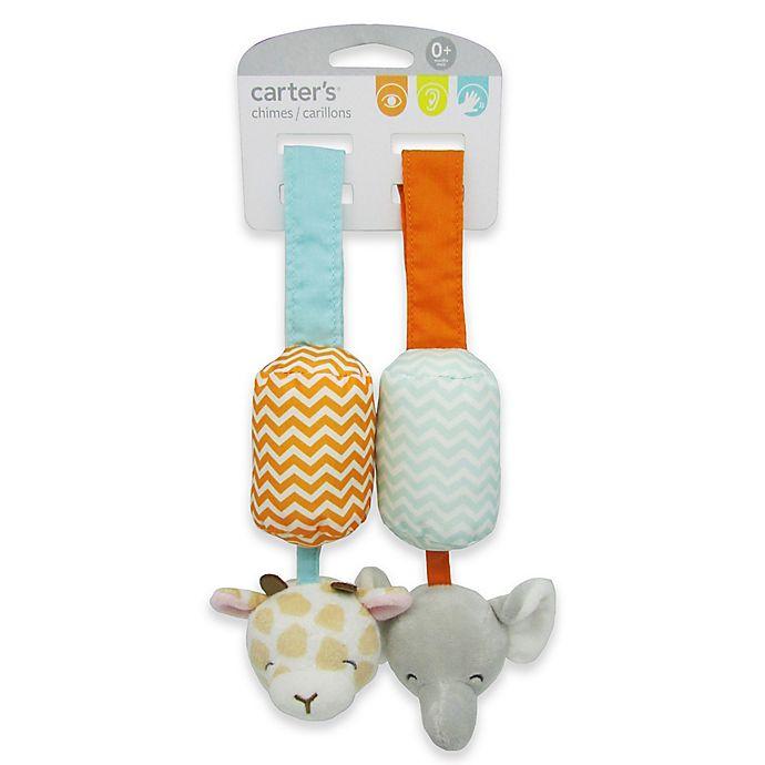 Alternate image 1 for carter's® Giraffe & Elephant Chime Toys