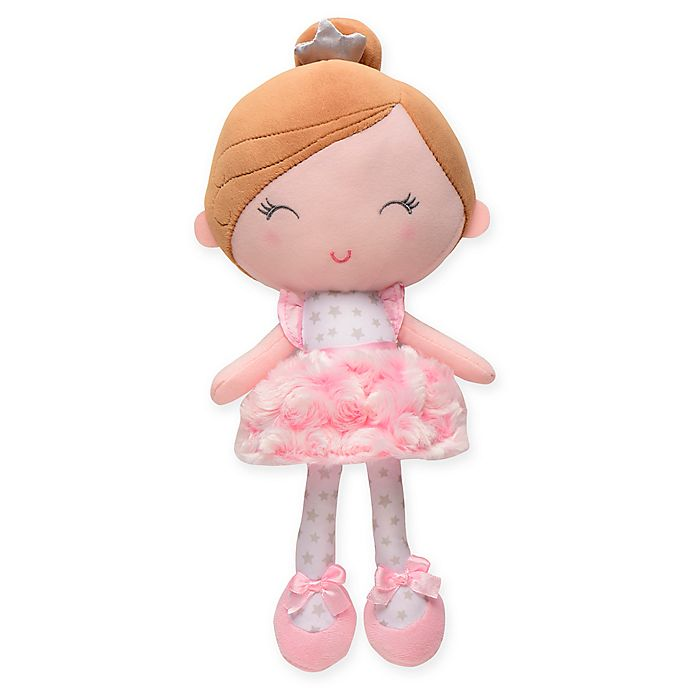 Alternate image 1 for Baby Starters® Annette Princess Plush Doll in Pink