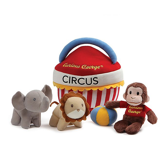 Alternate image 1 for GUND® Curious George Circus Playset