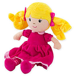 Stephen Joseph® Plush Doll with Yellow Hair