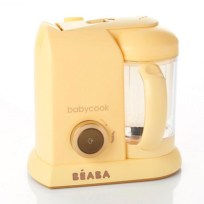 Alternate image 1 for BEABA® Babycook Baby Food Maker in Lemon