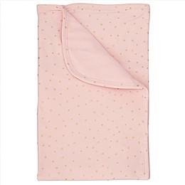 Mud Pie® Star Sparkle Stroller Blanket in Pink