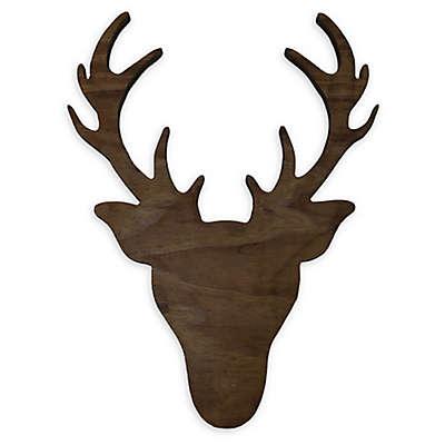 Twelve Timbers Wooden Deer Head Wall Art