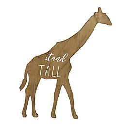 "Twelve Timbers ""Stand Tall"" Giraffe 21-Inch x 13-Inch Wall Art"