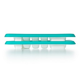 OXO Tot® Baby Food Freezer Trays with Silicone Lids in Teal (Set of 2)