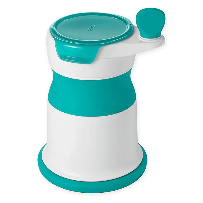 Alternate image 1 for OXO Tot® Mash Maker Baby Food Mill in Teal