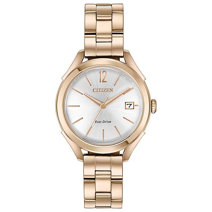 55953c62a1b79c Citizen® Eco-Drive Long-Term Relationship Watch in Rose Goldtone Stainless  Steel