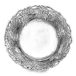 Arthur Court Designs Grape 12-Inch Aluminum Bowl