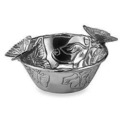 Arthur Court Designs Butterfly Nut Bowl