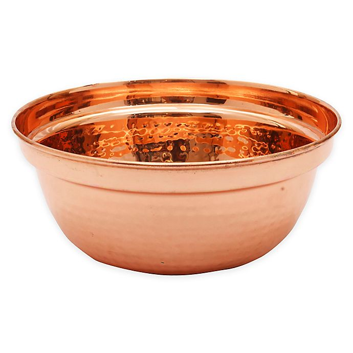 Alternate image 1 for Old Dutch International 1.75 qt. Round Chafing Dish Water Pan in Copper